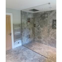 10mm Wet room Glass Shower Screen