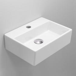 Quadro Mini Ceramic Rectangular Basin with tap hole