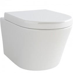 Madison Round Wall Hung WC complete with Soft Close Quick release Seat
