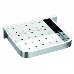 Soap Dish with Holes width 144mm