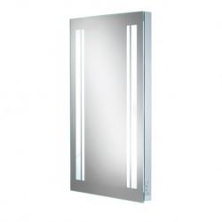 LED w 45 back-lit mirror with shaver socket.