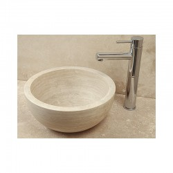 Style 5S Hand Crafted Natural Stone Bowl 35cm