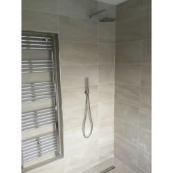Split face Shower Wall