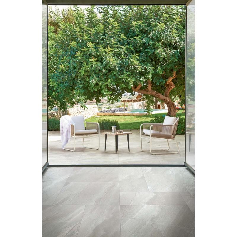 Buy Burl White Porcelain Stone Tile