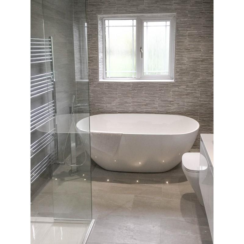 Buy Soft Stone Sorrento Grey Porcelain Stone Tile