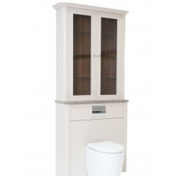 Bespoke Glazed WC Unit