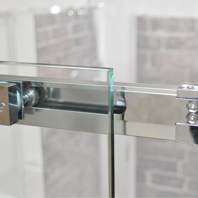 Buy 10mm Sliding Door With Square Handle