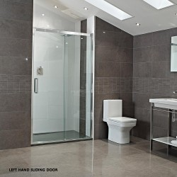 10mm Sliding Door with Square Handle