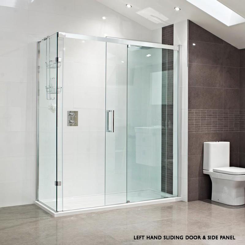 Buy 10mm Sliding Door With Square Handle