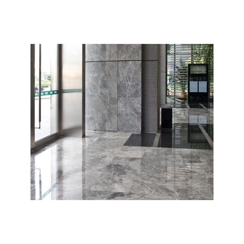 Buy Grey Emperador Polished Natural Marble Tile