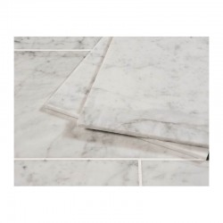 Carrara Italian Polished Natural Marble tile