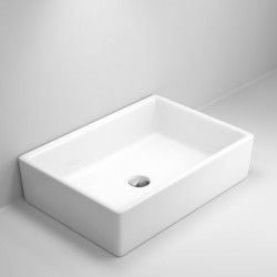 Quadro Ceramic Rectangular Basin
