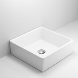 Quadro Square Ceramic Rectangular Basin