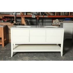Bespoke leg Set 12 Six Drawer Vanity