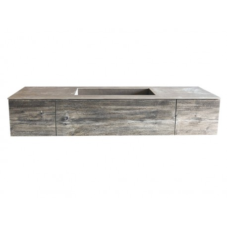 Linx Double Shallow Drawer Vanity
