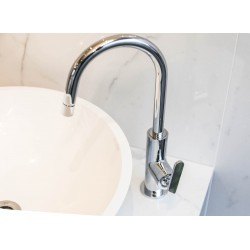 Project Slim Swivel Spout Tall basin mixer