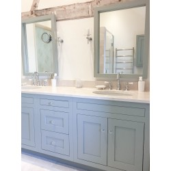 Bespoke Henbury Vanity Painted FB Blue Gray