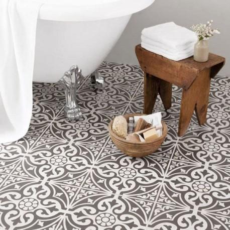 Dec Black Floor tile