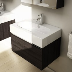 Cube 60cm Wall Drawer Vanity