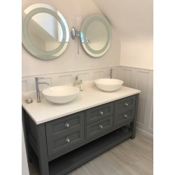 Henbury Vanity Painted FB Moles Breath
