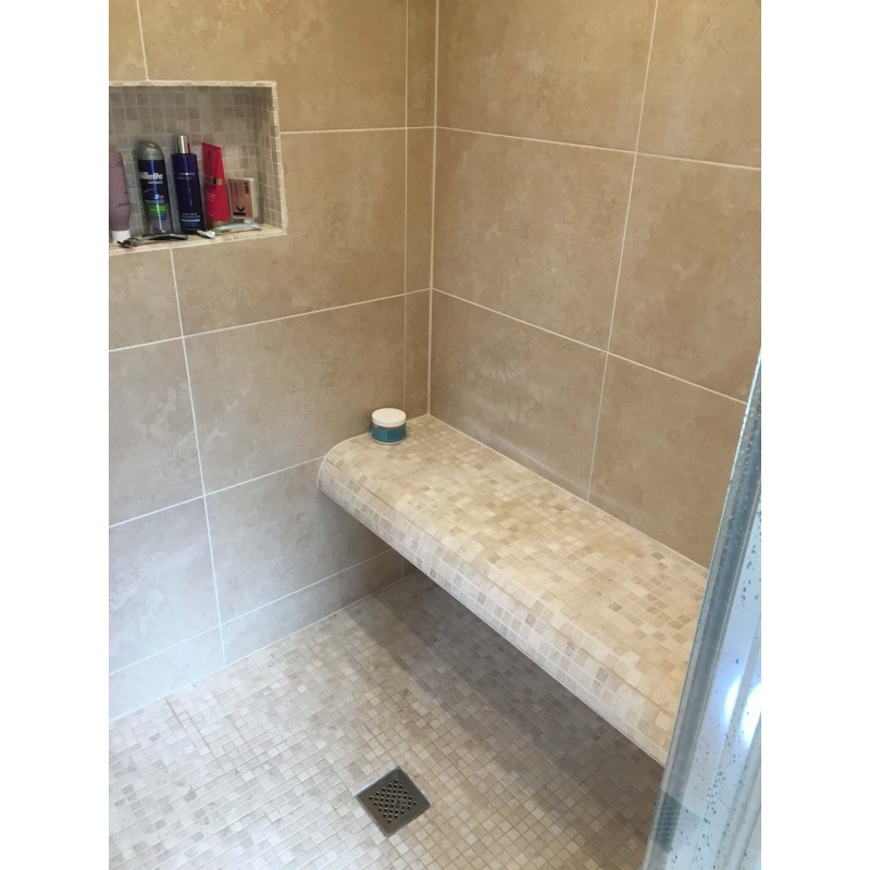 Travertine Porcelain Steam Shower Room Stonewood
