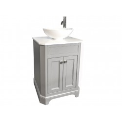 Henbury Set 11 60cm Vanity Painted F&B Moles Breath