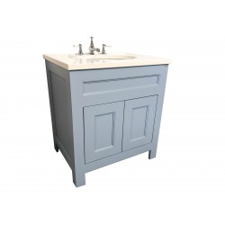 Henbury Open Plinth Set 12 Vanity Painted LIttle Green James 108