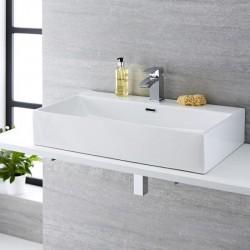 Rectangular Countertop Basin - 750mm x 420mm