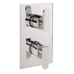 Project Slim Two Outlet Thermostatic Shower Valve
