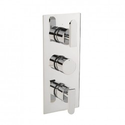 Project Slim Three Outlet Thermostatic Shower Valve