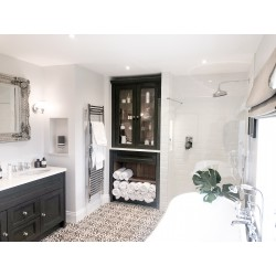 Charcoal Waxed Bathroom Furniture
