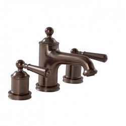 Henbury Bronze lever 3 Tap-Hole Basin Mixer
