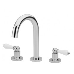 Henbury 3th Basin set with High Curved Spout