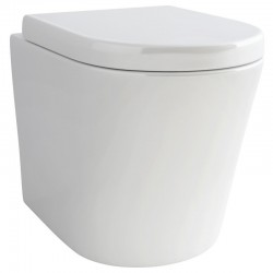 Madison Round Back-to-Wall WC complete with Soft Close Seat