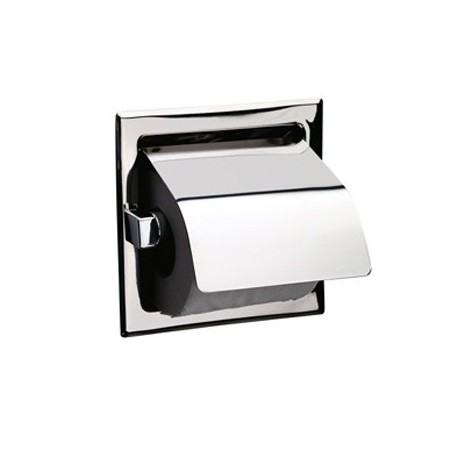 Recessed Roll Holder With Cover