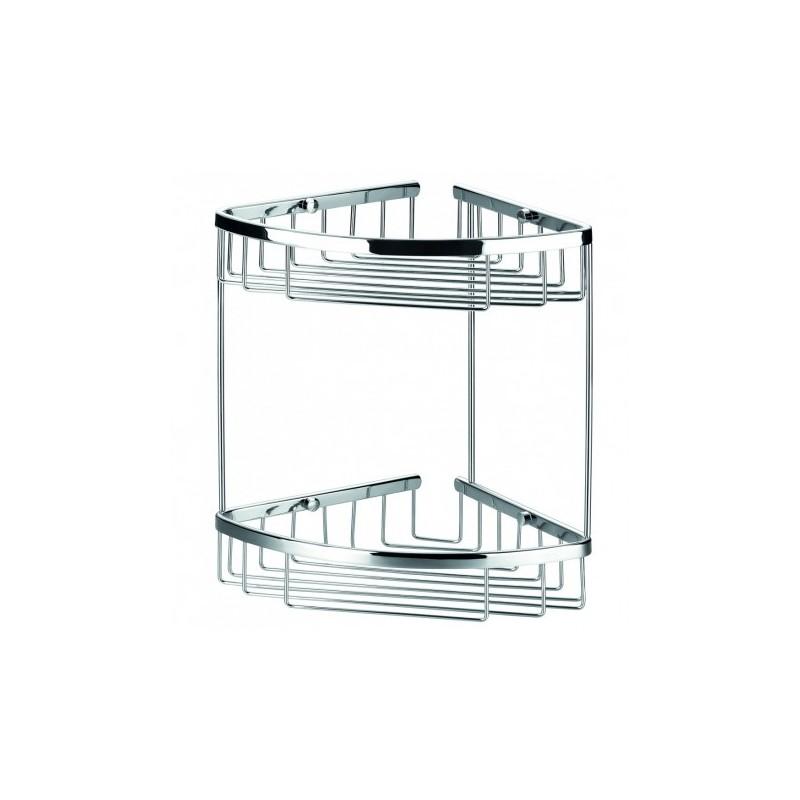Double Corner Shower basket - STONEWOOD