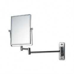 Reversible Extendable Magnifying Wall Mirror