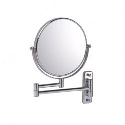 Reversible Extending 7x Magnifying Wall Mirror