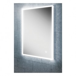LED back-lit mirror with shavor socket various sizes
