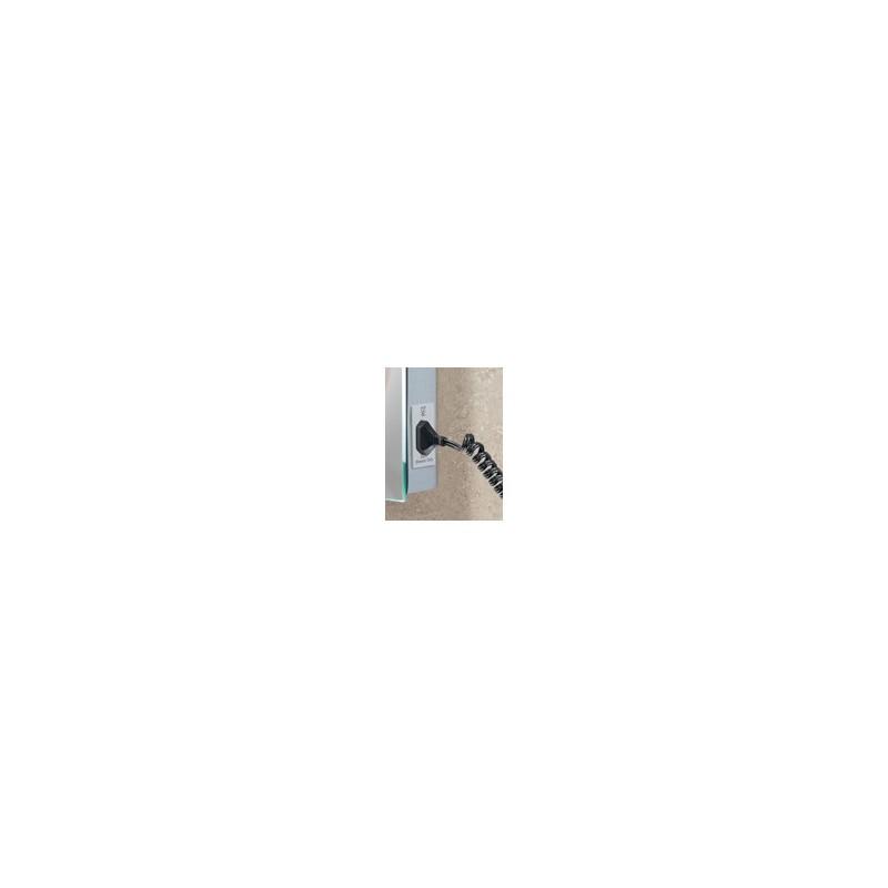 Buy Led W 45 Back Lit Mirror With Shaver Socket