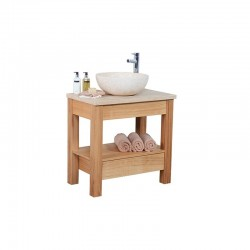 Set 2D Open Drawer Vanity