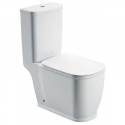 Henbury close coupled wc including soft close seat