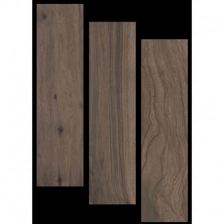 Brown Flax Porcelain Wood 900x225mm