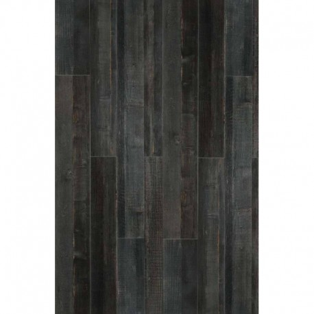 Dec Black Porcelain Wood 1200x200mm