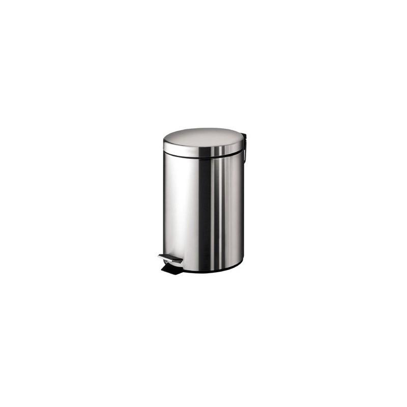 Pedal bin 3 litre stonewood for Stone bathroom bin