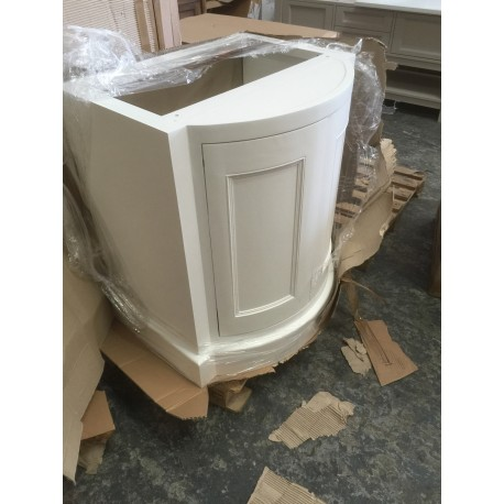 remarkable curved front bathroom vanity   Buy Curved Collection