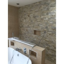 Henbury Set 12 Attic Bathroom with Grey Pepper Floor