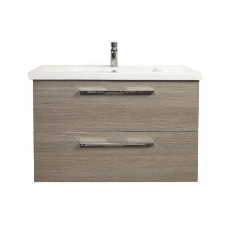Project Double Drawer Vanity Smoke Colour