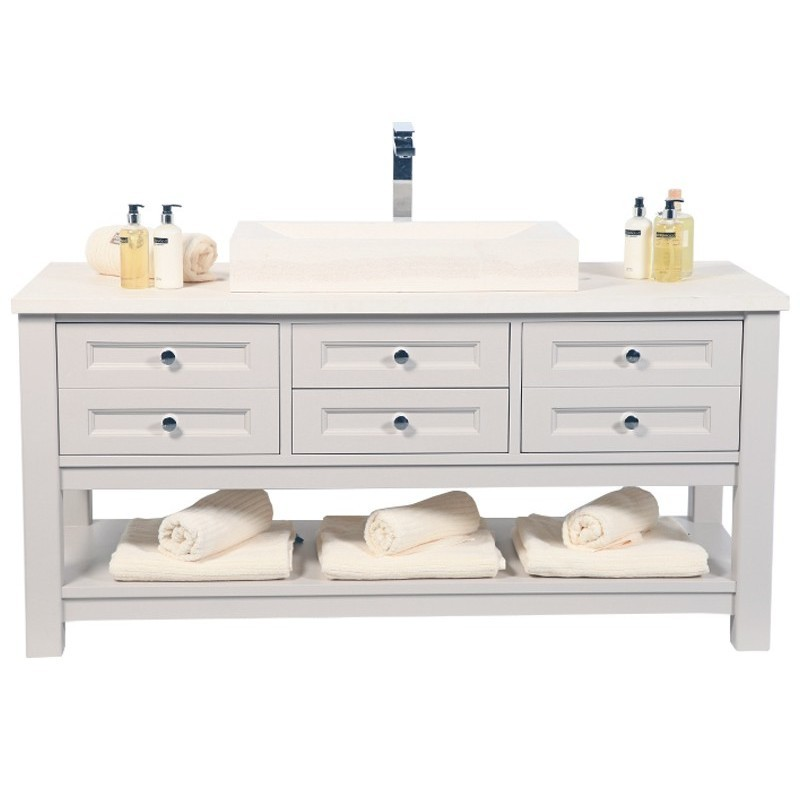 Henbury set 11 vanity stonewood for Bathroom cabinets 70cm wide