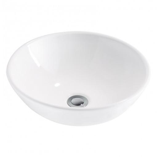 2xCeramic White Round Basin (width 400mm height 160mm) £189each